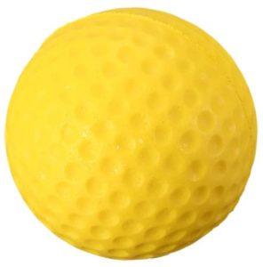 Une balle de golf une pièce dans un comparatif