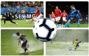 Un ballon de foot en PVC dans un comparatif