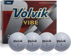 Evaluation du set de balles de golf Volvik Vibe dans un comparatif
