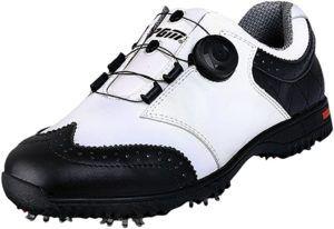 Test de matiéres des chaussres de golf