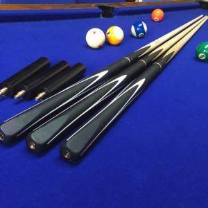 Le type de queue de Snooker