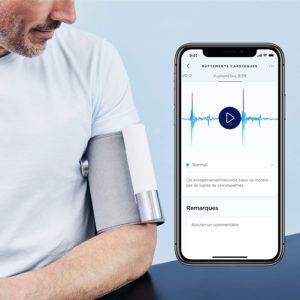 Évaluation de Tensiomètre Bras Électronique Withings BPM Connect