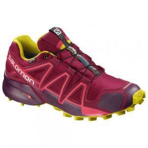 Descriptif de la chaussure de running Salomon Speedcross 4 dans un comparatif