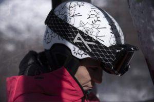 Définir un casque de ski moulé ?