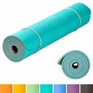 Les dimensions d'un tapis de sol fitness dans un comparatif