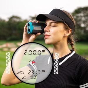 Comment fonctionne un télémètre de golf?