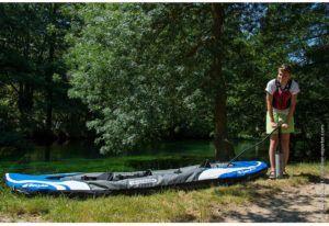 Comment sont testés les kayaks gonflables?