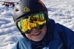 À qui est-ce destiné le casque de ski ?