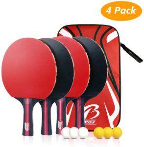 Que peut-on utiliser comme alternatives à la raquette de ping pong ?