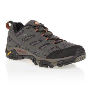 Evaluation des chaussures de trail Merrel Moab 2 Mid GTX dans un comparatif