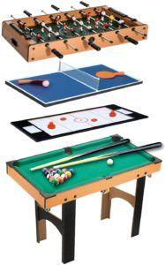 Définir un Homcom table multi jeux ?