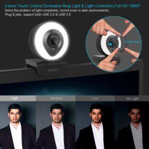 Quels sont les plus grands avantage d'un webcam dans un comparatif