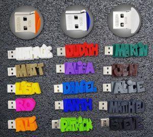 Quels sont les caractéristiques de la clé USB FUN ?