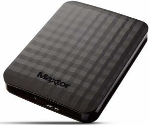 Quelle est l'évaluation du disque dur externe 1 To Maxtor STSHX-M101TCBM ?