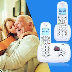 Qu'est ce qu'un téléphone fixe Alcatel XL385 Voice Duo ?