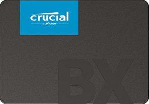 La fonction du disque dur Crucial CT240BX500 dans un comparatif