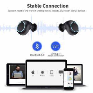 HETP écouteur sans fil IPX7