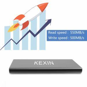 Résultat du Test d'un disque SSD To