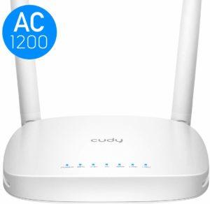 Quels sont les avantages du routeur wifi Cudy WR1000 Double Bande WiFi AC + N ?