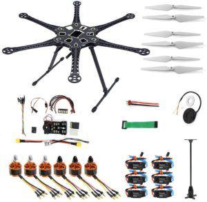 Description des drones PNF dans un comparatif