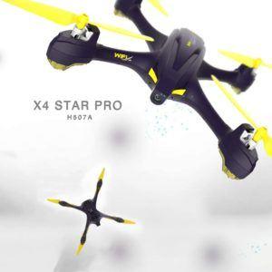 Descriptif du drone Hubsan X4 H507 A dans un comparatif gagnant