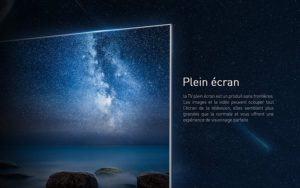 La TV 4K avec écran OLED avec plus de contraste