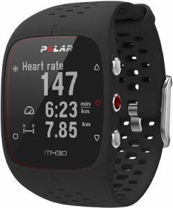 Description de la montre GPS Polar M430 dans un comparatif gagnant