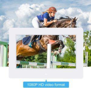 Quels est le résultat du test du qualité d'image d'un cadre photo numérique