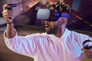 Qu'est-ce qu'un casque de réalité virtuelle Oculus Quest ?