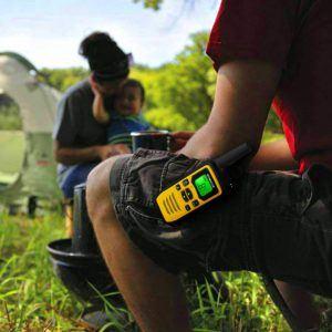 Comment mesurer l'étanchéité du talkie walkie ?