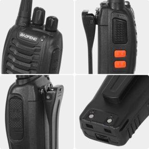 Comment est testé le talkie walkie ?