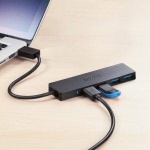 Anker 4-Ports USB 3.0 Hub, Ultra-Slim
