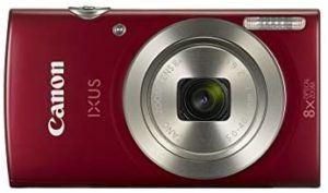Aperçu de l'appareil photo numérique Canon IXUS 185 dans un comparatif