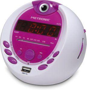 Aperçu de la radio-réveil enfant Metronic 477022 dans un comparatif
