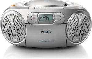 Descriptif de la radio Philips AZ127 dans un comparatif