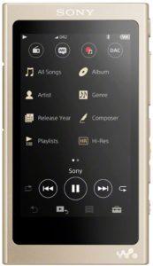 Descriptif du lecteur mp3 Sony NW – A45 dans un comparatif