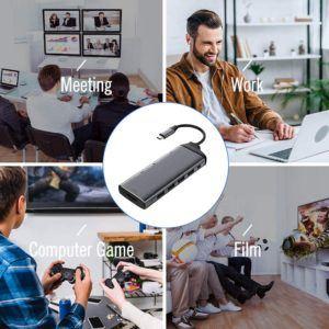 Les différents types d'adaptateurs usb c avec câble