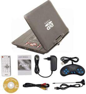 Évaluation d'un lecteur DVD portable APEMAN 12.5