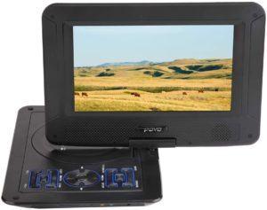 """Évaluation d'un lecteur DVD portable DBPOWER 12.5"""""""