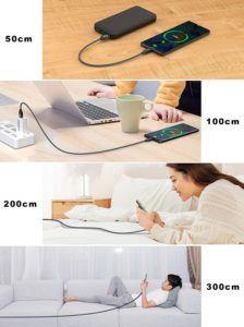 HAKUSHA Câble USB Type C