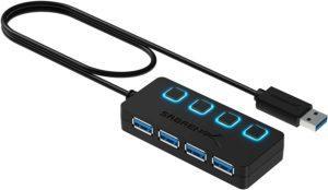 Comment évaluer une multiprise USB 3.0 Sabrent ?