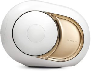 Qu'est-ce qu'une enceinte Bluetooth Devialet Gold Phantom ?