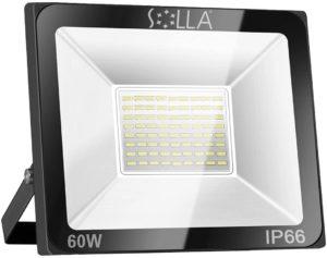 Evaluation d'un projecteur LED, processus