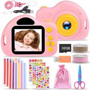 Comment fonctionne un appareil photo pour enfants ?