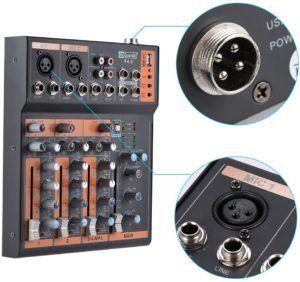 Quels types de table de mixage compact existe-t-il?