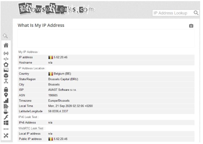 HMA VPN pour plus de sécurité