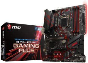 Qu'est-ce qu'une carte mère MSI MPG Z390 GAMING PLUS ?