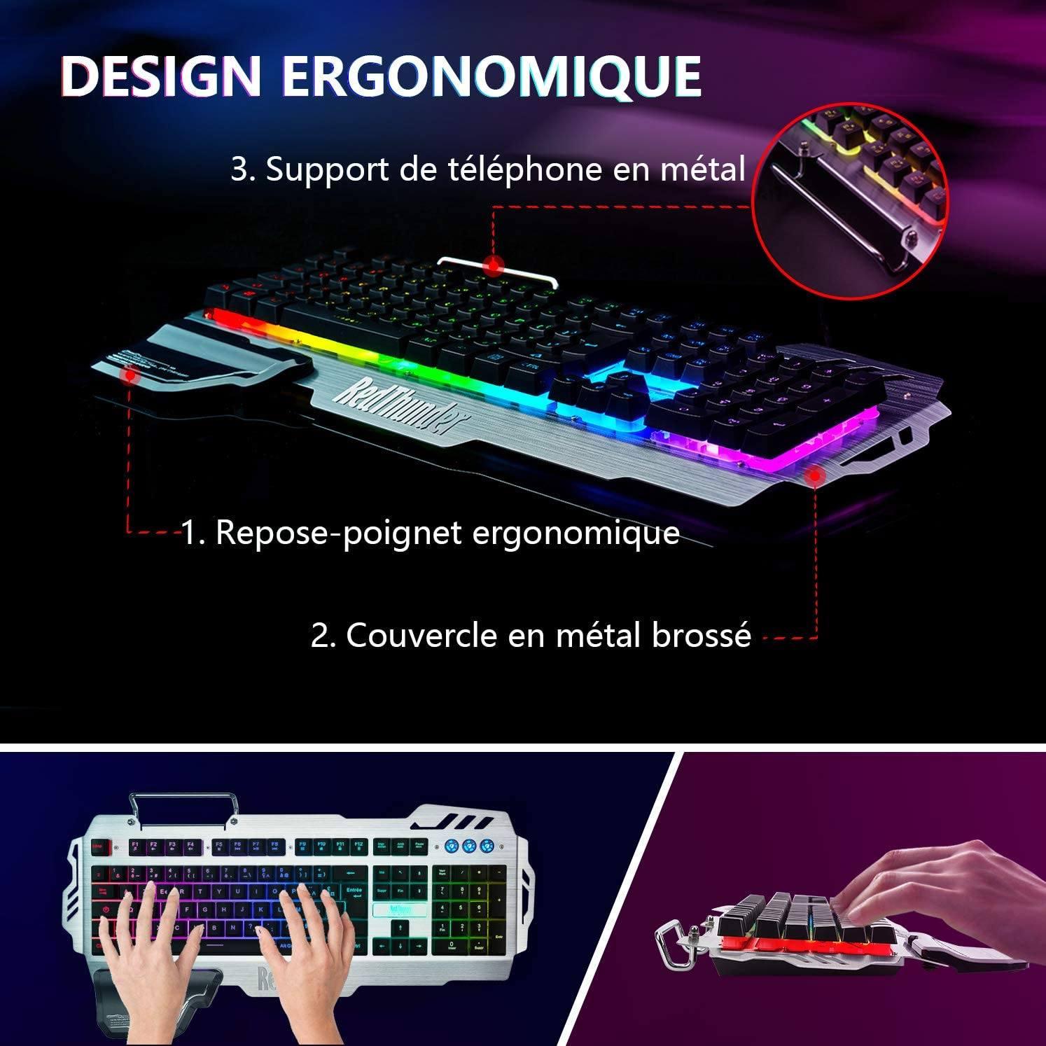 À quoi faut-il veiller lors de l'achat d'un clavier ergonomique?
