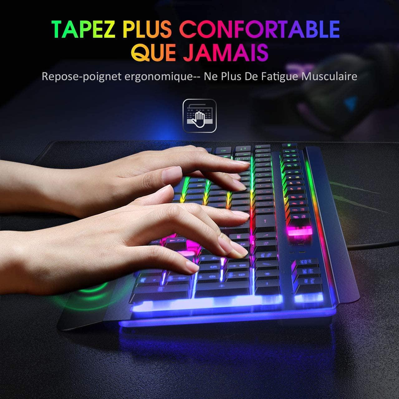Quels sont les plus grands avantages d'un clavier ergonomique dans un comparatif