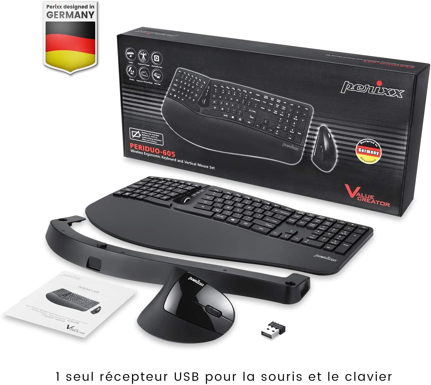 Les différents types de clavier ergonomique